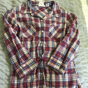 Tops - Flannel Top